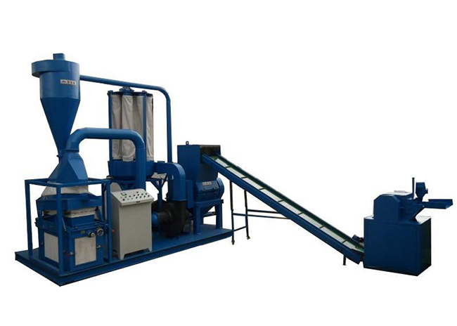 Dry-type Cable Granulating Plant