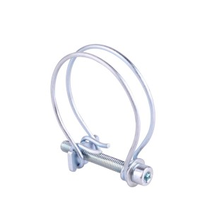 France Double Wire Hose Clamp