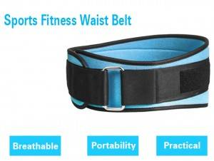 Back Elastic Waist Brace Support Belt WS-01