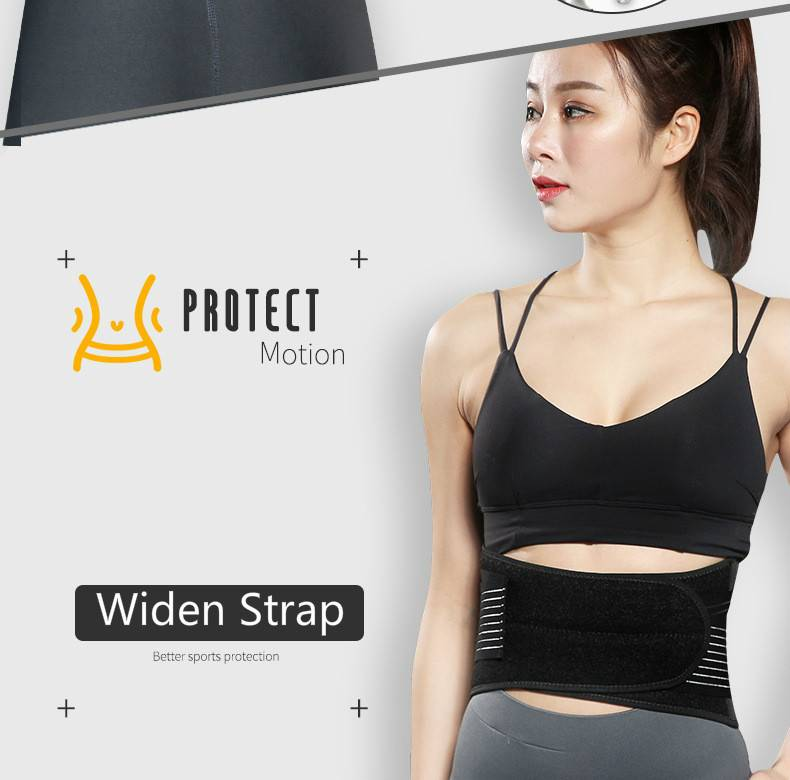 Gym Fitness Sport  Lumbar Belt Waist Trimmer  WS-03 Featured Image