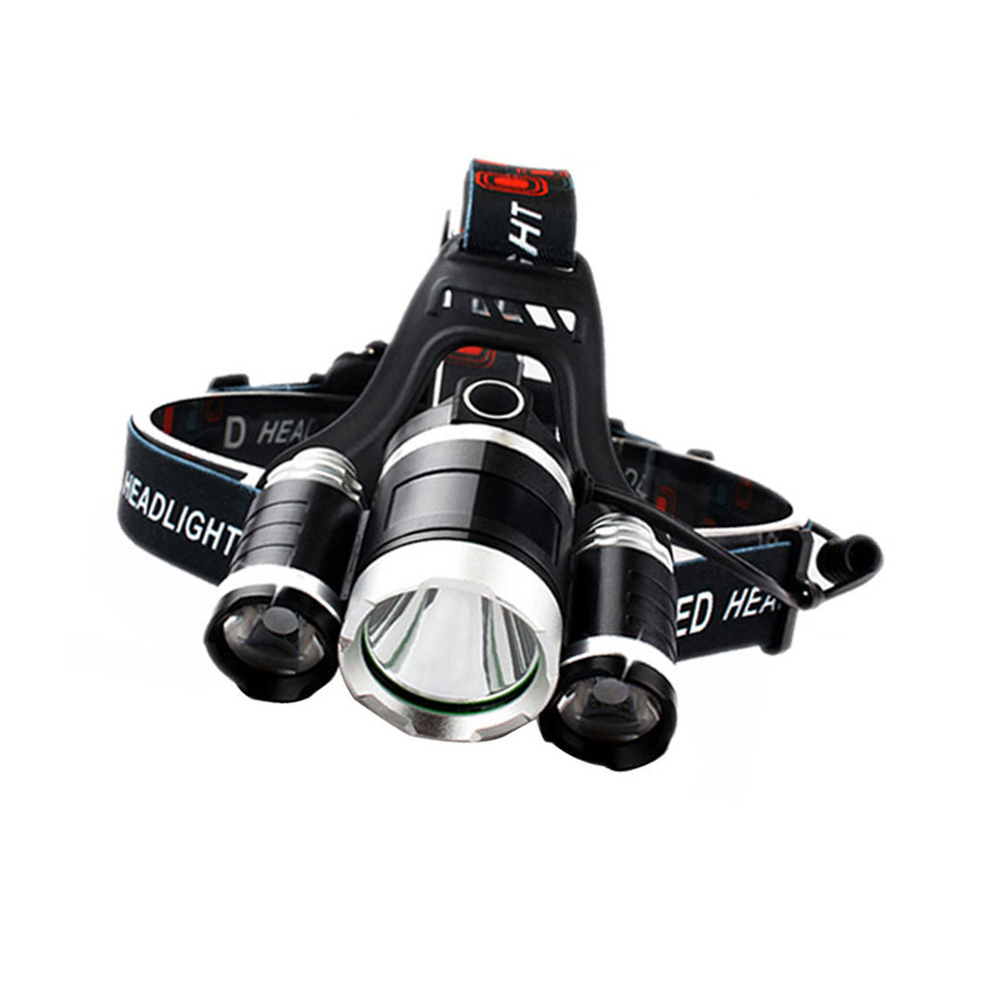 Camping Waterproof Running XML T6 Tactical Hunting 18650 Rechargeable High Power miner cave headlamp Featured Image