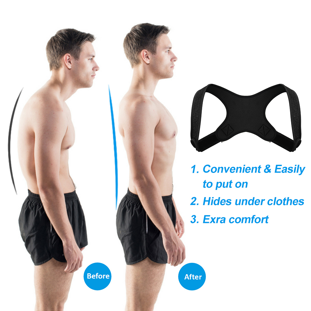 back Brace lumbar support posture correction mens and women posture corrector