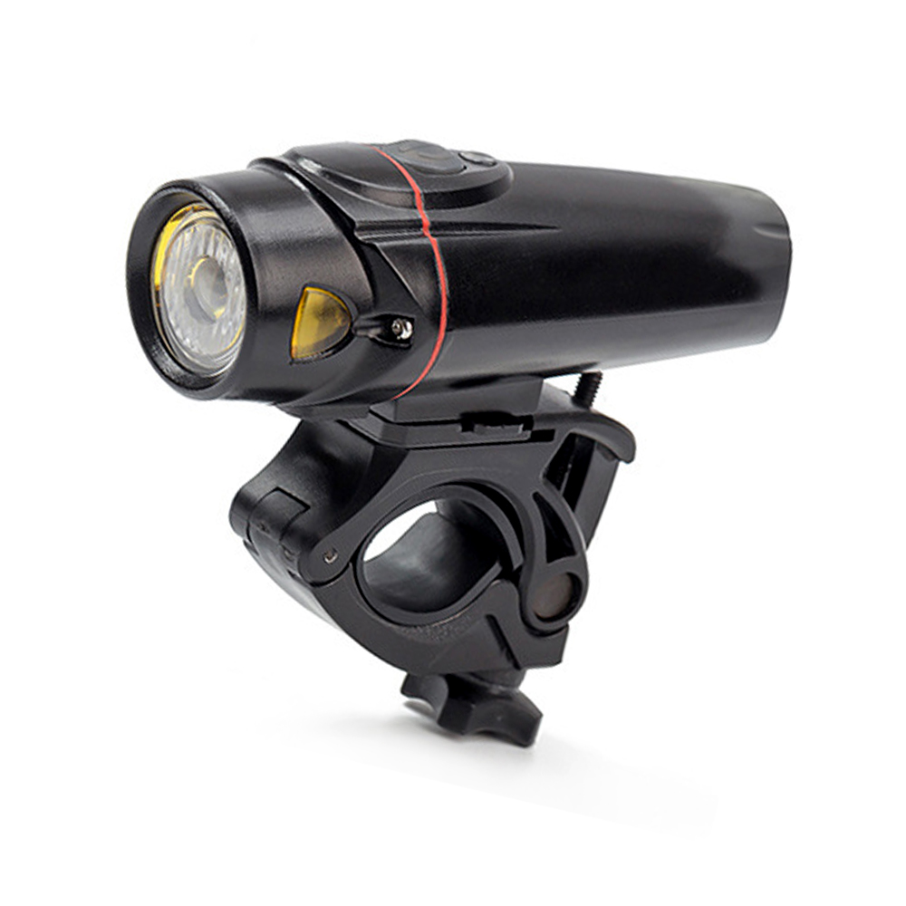 High Power Super Bright Aluminum Alloy 3 Modes 350 lumens Bicycle Front Flashlight LED USB Charge Mountain Smart Bike Headlight