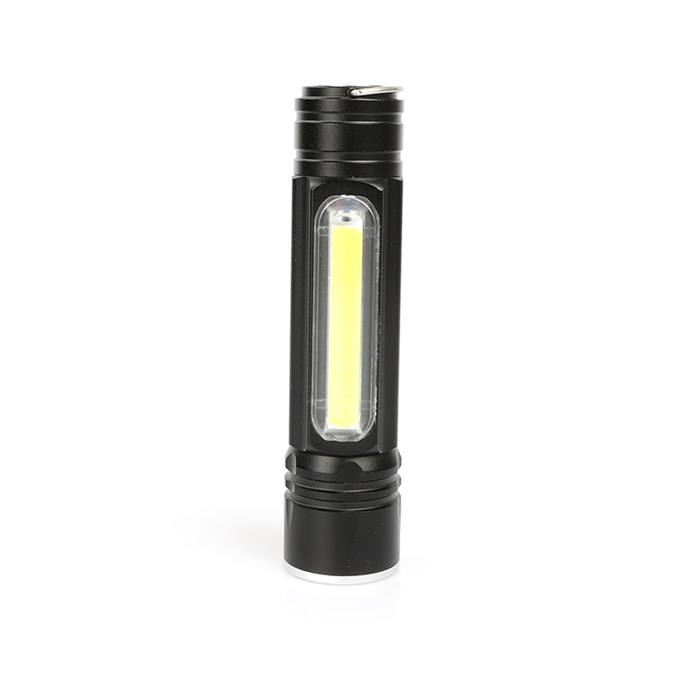 Aluminum alloy magnet hang USB rechargeable waterproof COB work Overhaul Lamp Pocket Torch telescopic focusing XML T6 flashlight