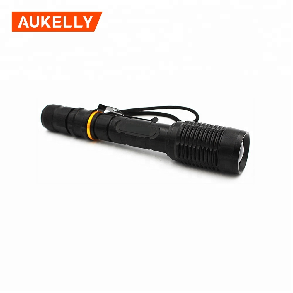 Zoom 3000 Lumens 5 Modes XML T6 LED 18650 Flashlight Torch Lamp Light Focus