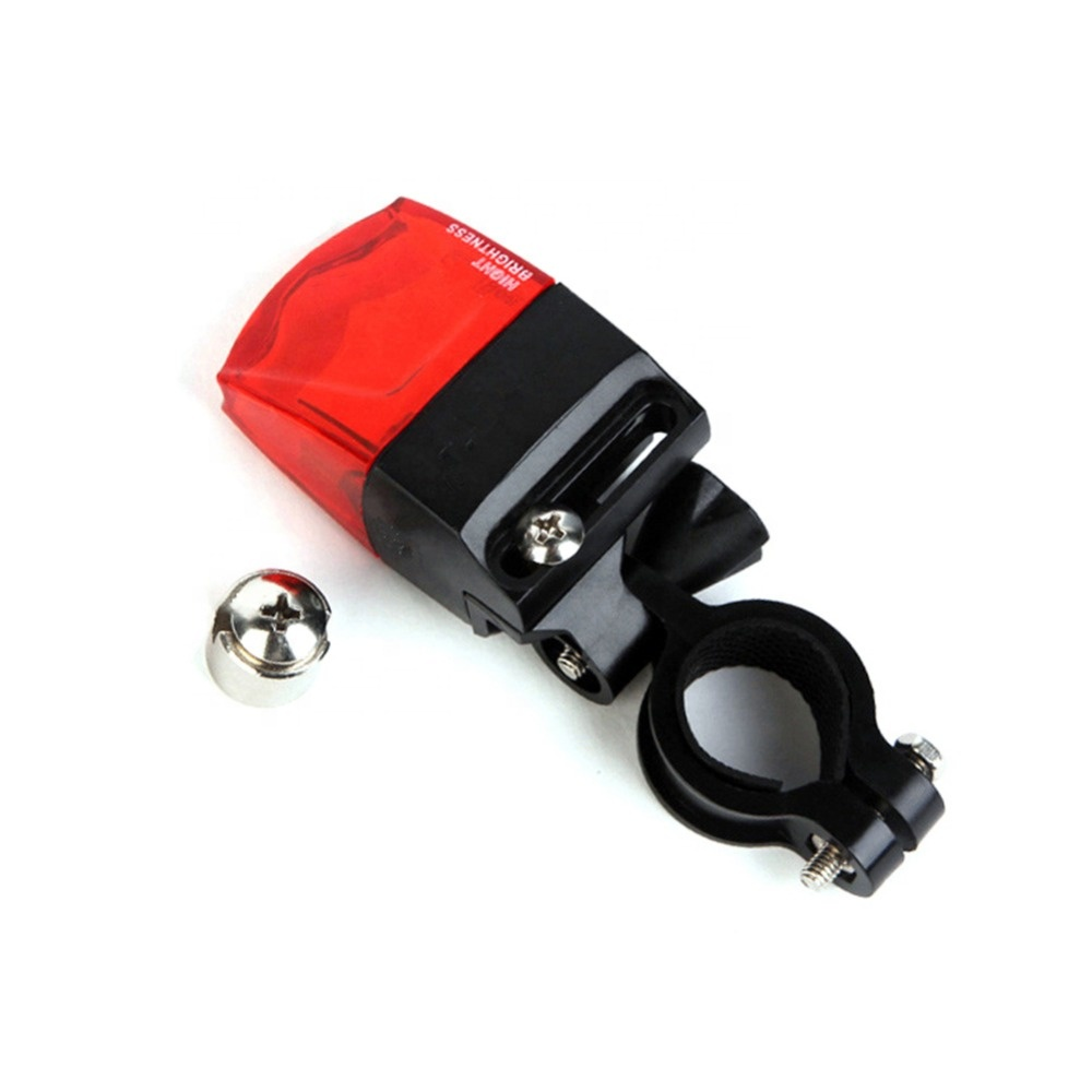 Waterproof Induction MTB Bike TailLight Warning safety Cycling Rear Lamp Magnetic Self-generating Electricity Bicycle Tail Light