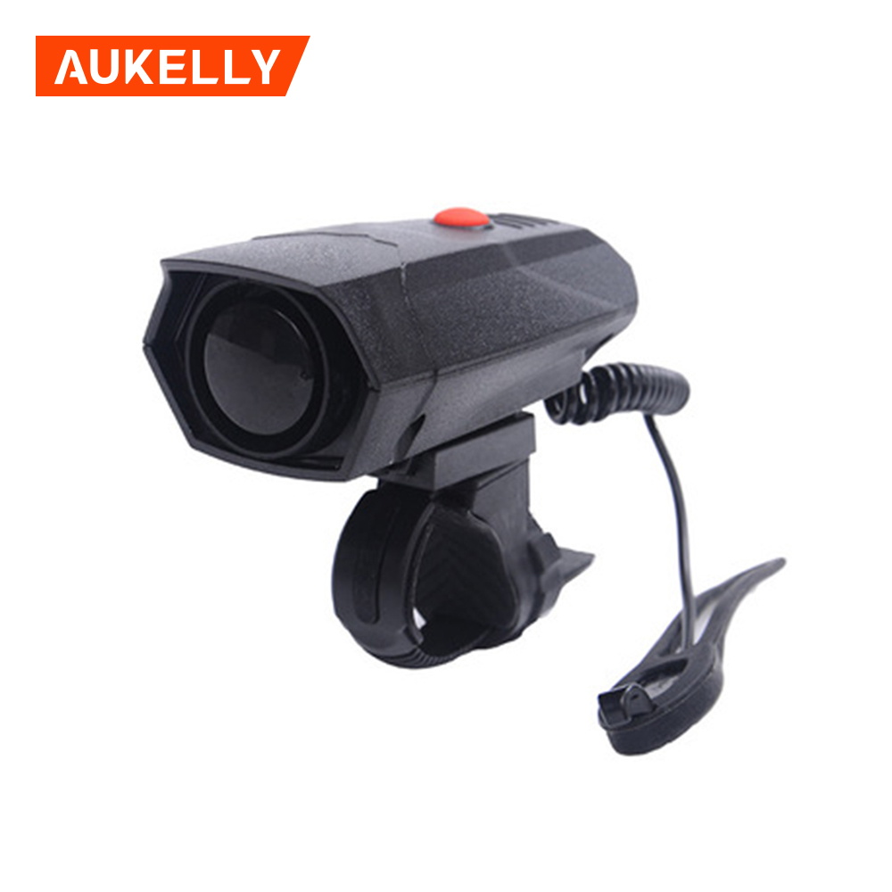 Bicycle riding handle bells loud air alarm bell bicycle electronic horn