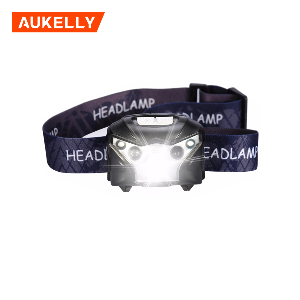Aukelly New Products China Suppliers 3 Mode Waterproof Adjustable Focus led headlamp for usa market 5w ultraviolet headlamps