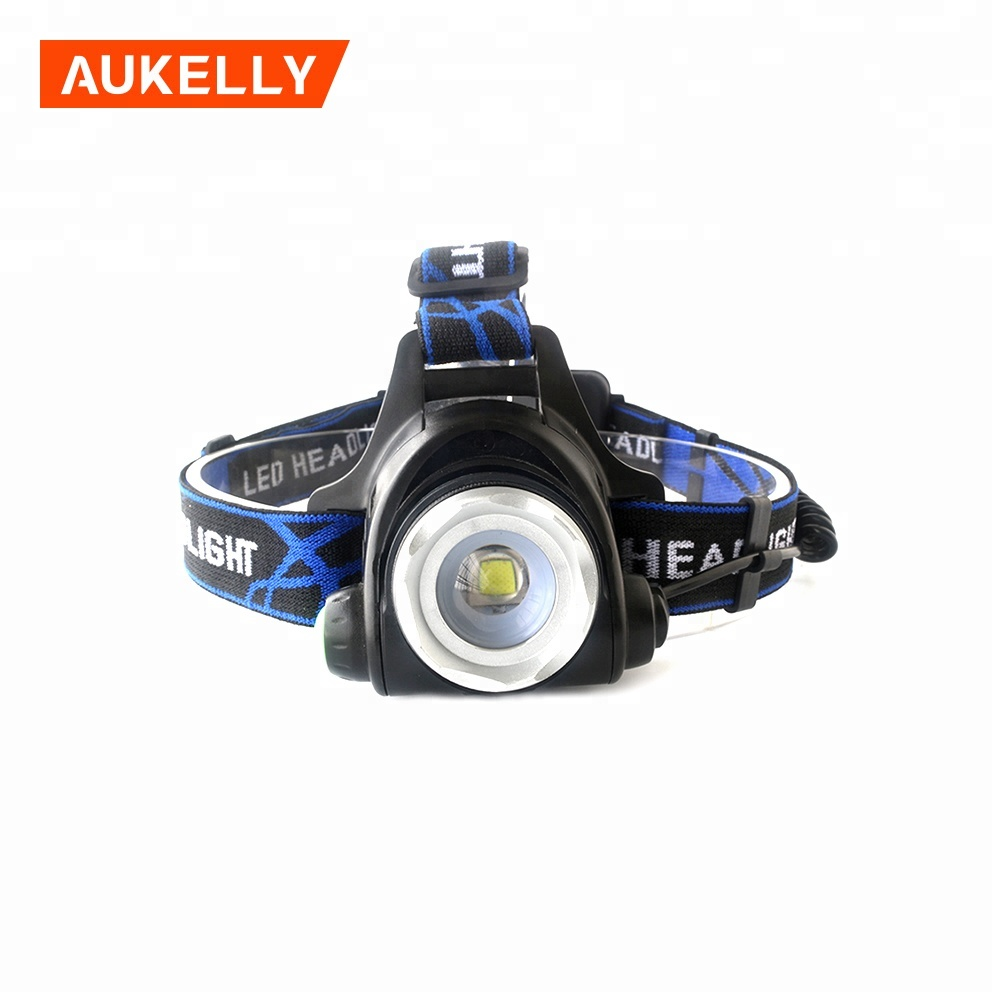 Aukelly Ultra bright led headlamp for hunting waterproof head lamp