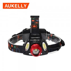 18650 T6 Adjustable direct charge waterproof led headlamp