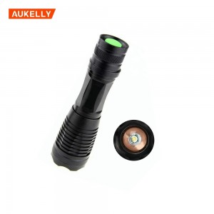 10W 1000LM Mini Adjustable Focus Zoom LED Flashlight Tactical LED Flashlight
