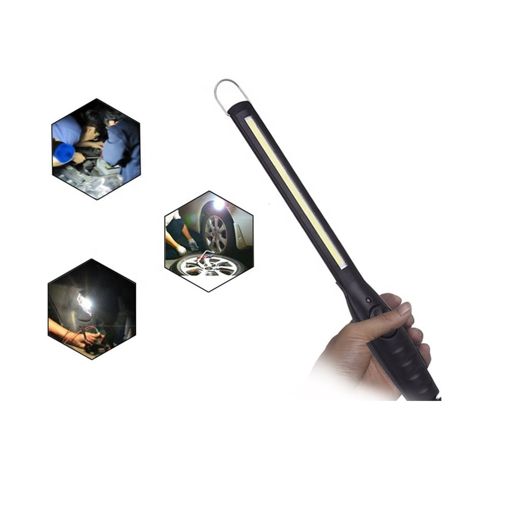 Rechargeable Portable Magnetic Base COB LED Slim Light Usb  Work Lamp WL8 Featured Image