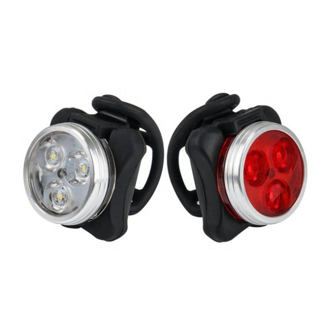 Outdoor cycling Light Set USB Bike Front Handlebar Lamp Bicycle Tail Safety Rear Lamp warning bike light sets bicycle usb light