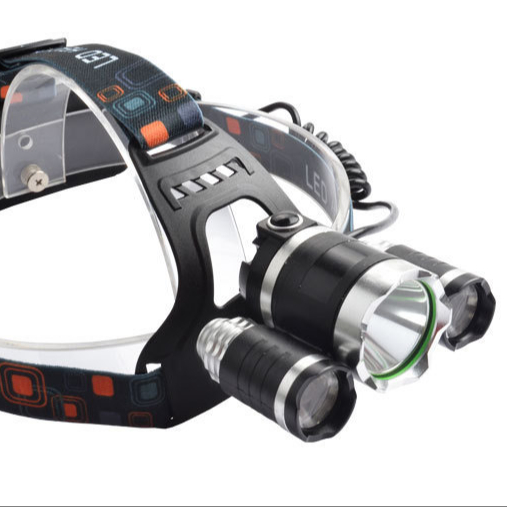 Aluminum Alloy XML-T6 High Power Tactical LED Light Head Torch german led torch