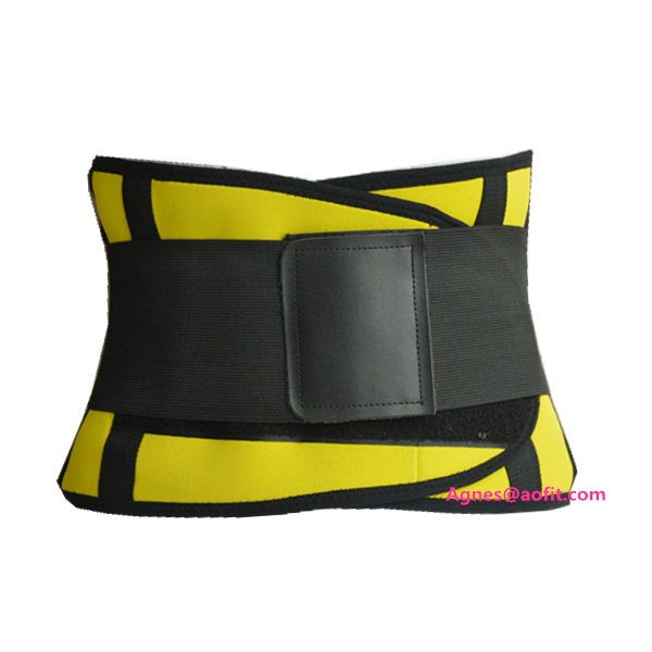 portable high quality adjustable lumbar support belt spine protector postpartum recovery custom colorwaist shaper slimming belt