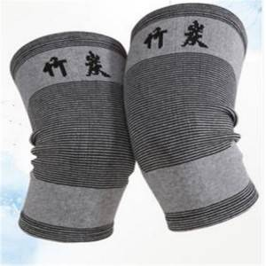 Sports knee pads Natural Bamboo Charcoal Fabric Knee Brace KS-01