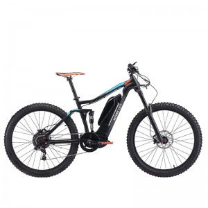 27.5INCH CENTER MOTOR SUSPENSION E BIKE