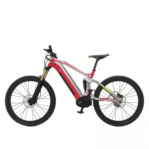 27.5INCH FULL SUSPENSION MOUNTAIN E BIKE