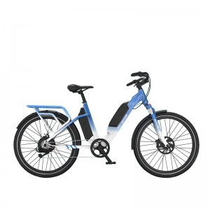 700C ALUMINUM ELECTRIC TREKKING BICYCLE
