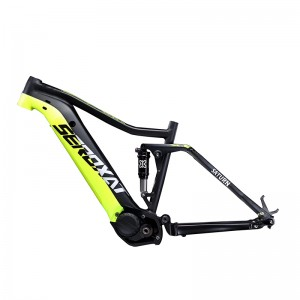 CENTER MOTOR MOUNTAIN E BIKE FRAME