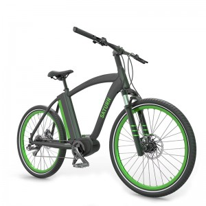 26INCH ALLOY CRUISER E BIKE FOR BOY