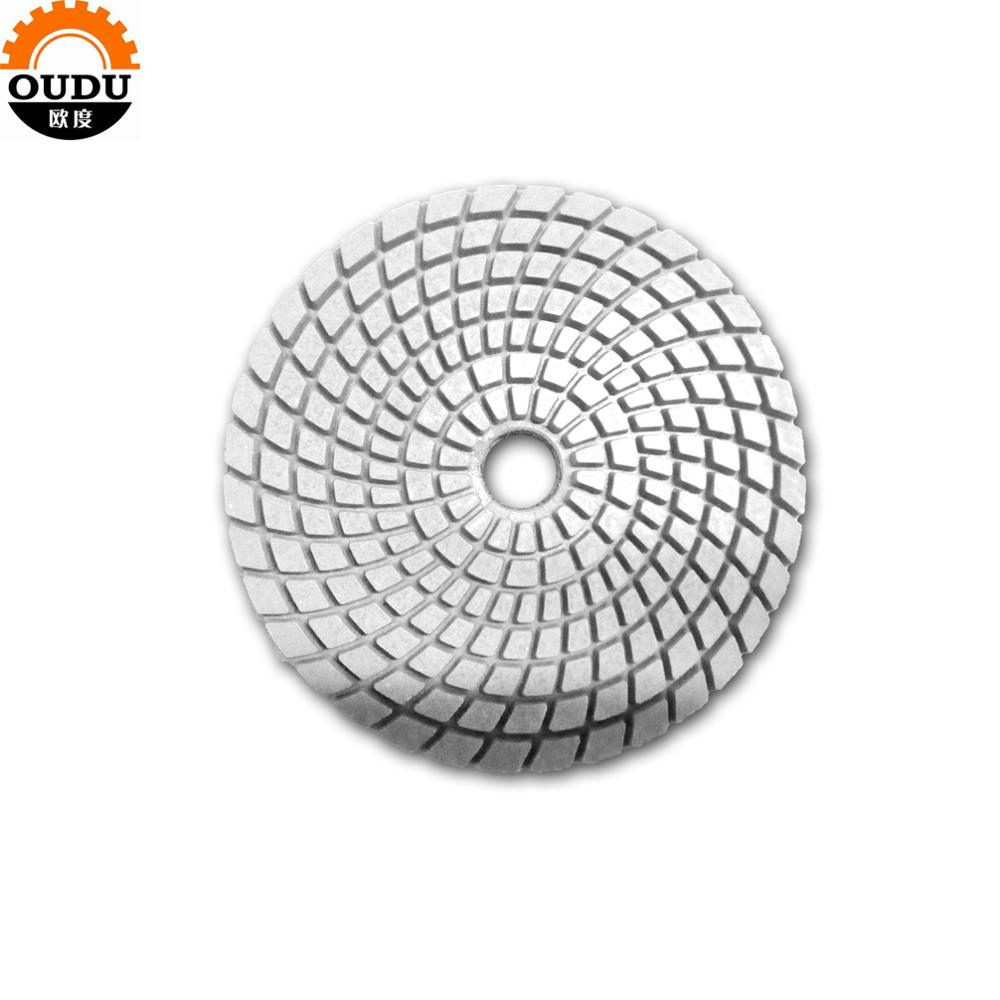 "4"" diamond wet polishing  pads for marble and granite stone polishing pad"