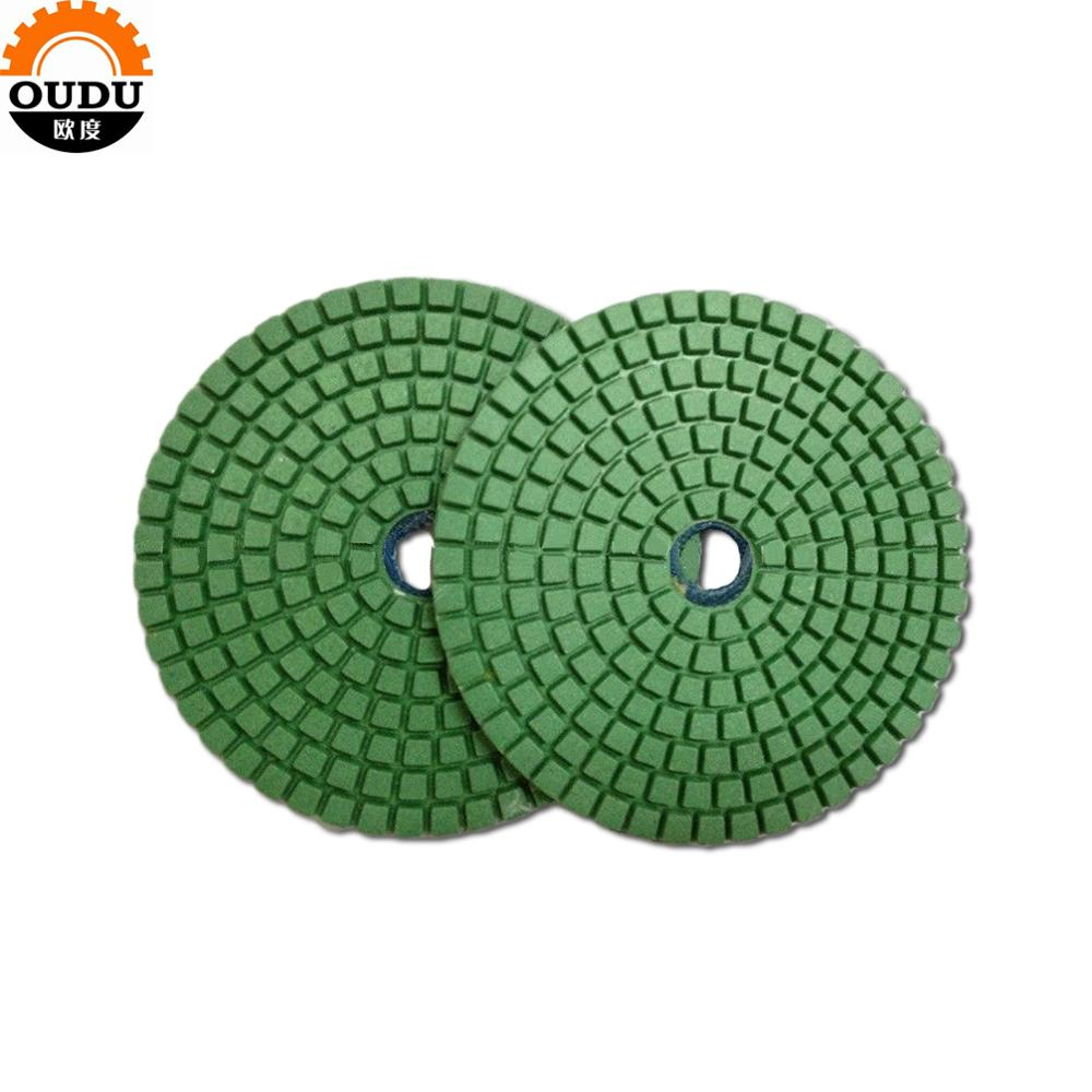 marble granite diamond wet polishing pad