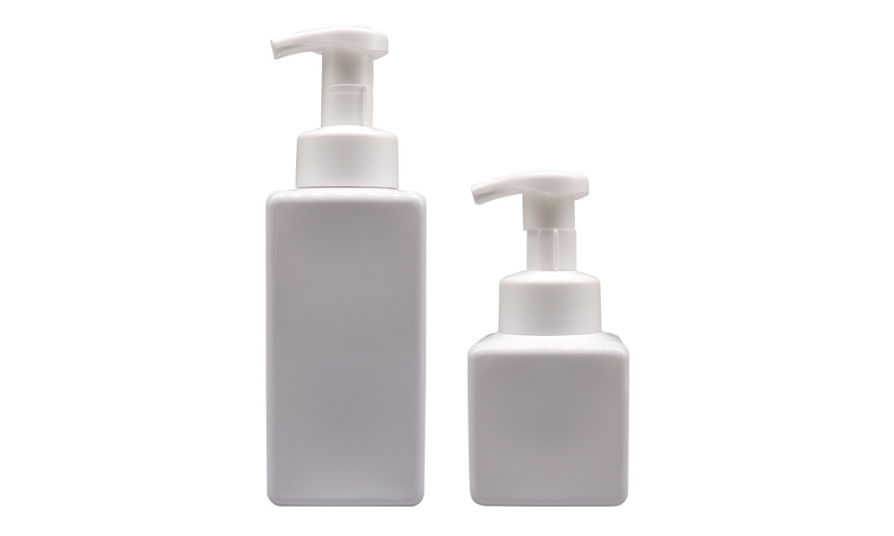 Square Face Cleanser Foam Bottle, Square Hand Sanitizer Foam Bottle Featured Image