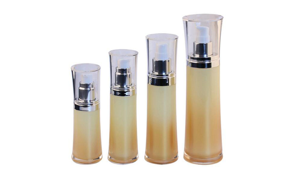 Double Wall Fancy Cosmetic Plastic Acrylic Lotion Pump Bottles Featured Image