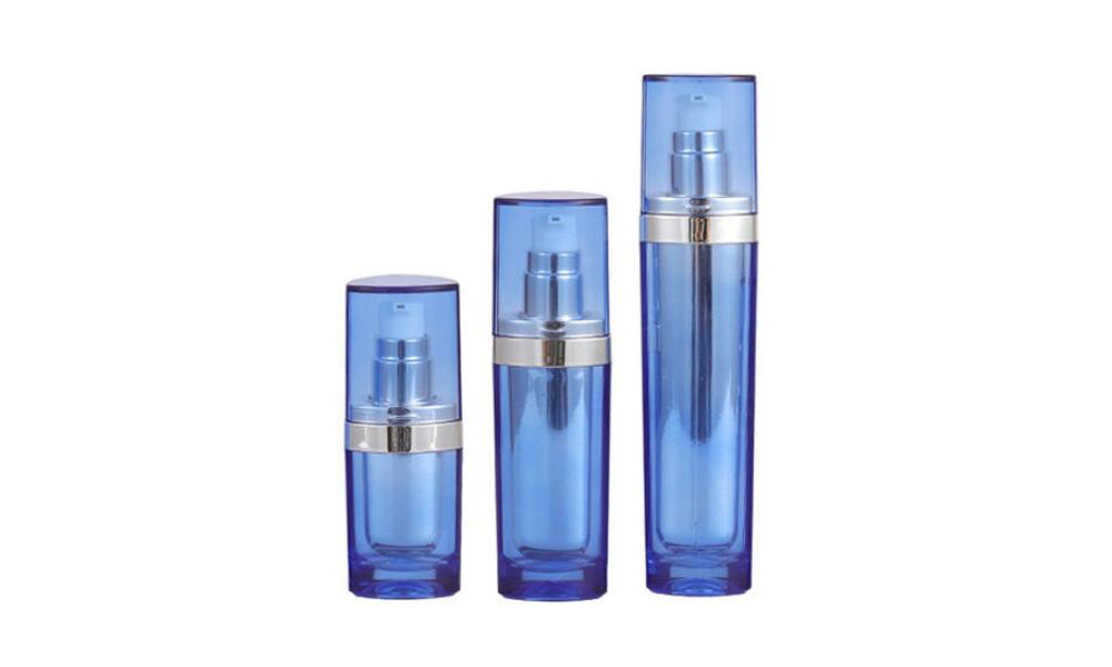 Lotion bottle 15ml 30ml 50ml Acrylic Plastic Cosmetic Packaging Bottle Featured Image