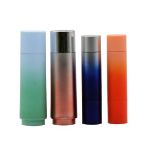Customized Factory Plastic Cosmetic Liquid Essential Oil Dropper Bottle