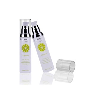 Eco Friendly Cosmetic Lotion Pump Plastic Airless Bottle Wholesale