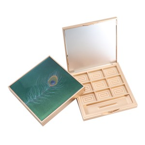 Cosmetics private label empty eyeshadow palette