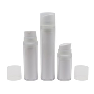 Refillable Airless Pump Bottle, Replaceble PCR Lotion Pump Bottle