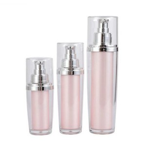 Empty Cosmetic Skincare Cream Lotion Containers Squeeze Bottles With Pump