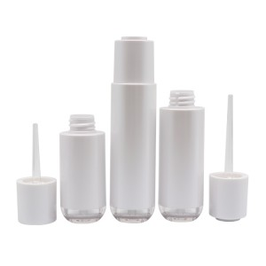 Factory Wholesale 20ml 30ml 40ml Essential Oil PETG Plastic Dropper Bottle With Screw Cap