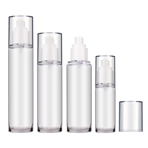 50ml 120ml 150ml Thick Wall High Quality PETG Lotion Plastic Pump Bottles