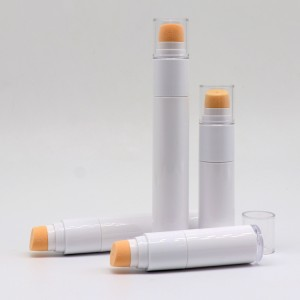 Portable Twist Up Airless Foundation Pen with Sponge Head