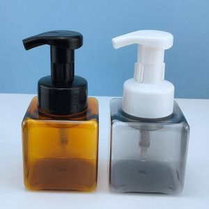 Square Face Cleanser Foam Bottle, Square Hand Sanitizer Foam Bottle