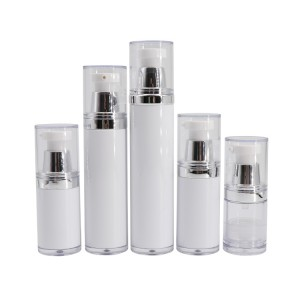 Cosmetic Packaging Airless Pump Bottle 10 ml 15ml 20 ml 30 ml 40 ml 50 ml