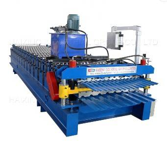 Mexico 988 corrugated 994 trapezoidal double layer roof forming machine Featured Image