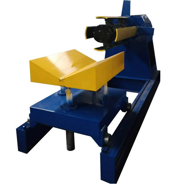 China New Product Used H Beam Straightening Machine - Hydraulic Steel Decoiler With Coil Car – Haixing Industrial
