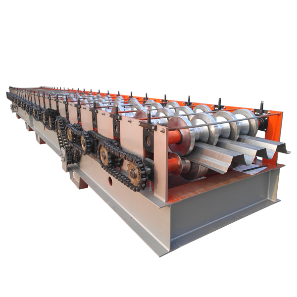 Low price for Aluminum Window Bending Machine - Automatic Metal Floor Deck Roll Forming Machine – Haixing Industrial