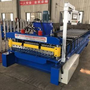 Roof Tiles and Corrugated Metal Sheet Roll Forming Machine