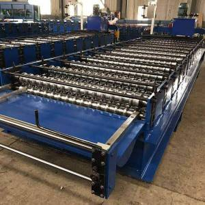 Corrugated Wave Roof Tile Roll Forming Machine