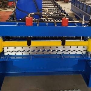 Automatic metal roof tile making machine