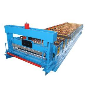 Well-designed Aluminium Corrugated Metal Glazed Tiles Roofing Sheets Making Machine