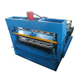 Hot sale Hydraulic Crimp Curved Steel Roofing Roll Forming Machine