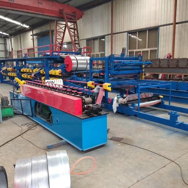 OEM China Wall Angle Tee Machine Roll Forming Machine - Rock Wool Sandwich Sheet Production Line – Haixing Industrial