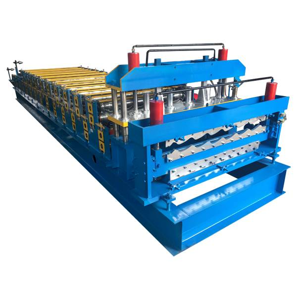 factory low price Electric Shearing Machine - Double Layer Roof Panel Roll Forming Machine – Haixing Industrial